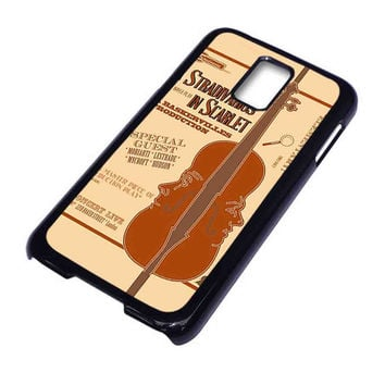 A Stradivarius in Scarlet For Samsung Galaxy S5 Case ***
