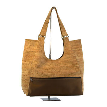 Be Bold Cork Shoulder Bag