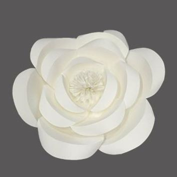 "PR301 10"" Paper Flower Decorative Prop Wedding Photo Booth"