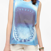 LIFE Bite Me Shark Muscle Tee