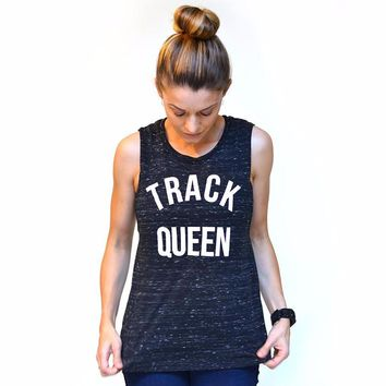 Track Queen - Muscle Tank