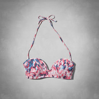 V-Wire Bandeau Swim Top