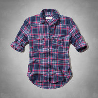easy fit plaid shirt