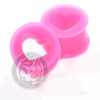 Pink Silicone Hearts