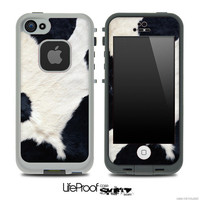 Cow Print Skin/Case Bundle LifeProof Case Set for the iPhone 4/4s, 5c or 5/5s
