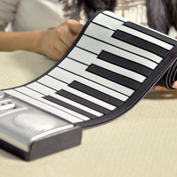 Roll Up Electronic Piano - $30