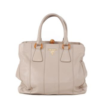 Prada Beige Leather Bag