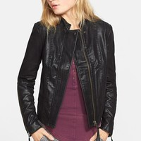 Women's Free People Faux Leather Jacket,
