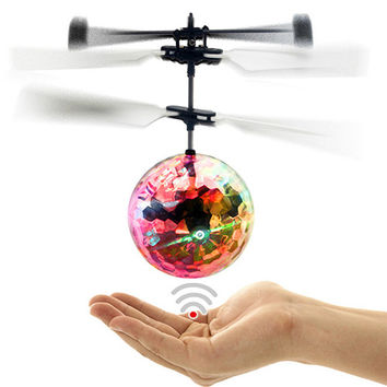 Colorful Flashlight Remote Control Helicopter