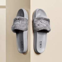 "PUMA BY RIHANNA LEADCAT FENTY ""Grey"" Slipper Sandals"