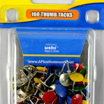 thumb tacks - 160 count Case of 48