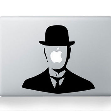 Magrittedecals mac sticker mac macbook decal mac by AppleParadise