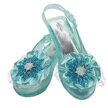 Disney's Frozen Elsa Shoes Girls Costume, One Size Child