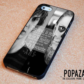 American Horror Story skull quote iPhone 5 | 5S Case Cover