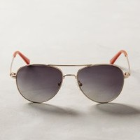 ett:twa Adelin Sunglasses in Gold Size: One Size Eyewear