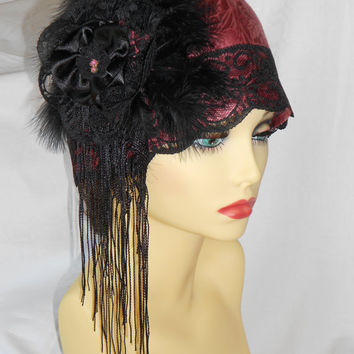 1920 s inspired vintage turban style from valeriesfantasyhats on