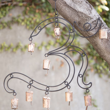 Large Om Wind Chime