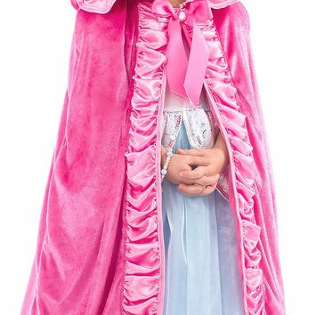 Little Adventures Deluxe Pink Cloak