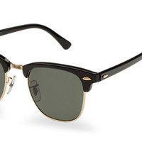 Check out Ray-Ban RB3016 49 CLUBMASTER sunglasses from Sunglass Hut http://www.sunglasshut.com/us/805289346890