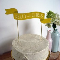Custom Cake Banner No 2 by ReadyGo on Etsy