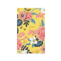 Birch Floral Small Notepad with Pocket