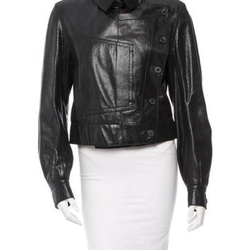 Yves Saint Laurent Leather Jacket