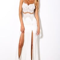 Love Unscripted Maxi White