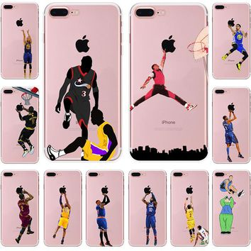 Collage of NBA Moment Cases for iPhone