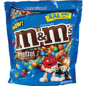 Costco Business Delivery - M&M's Pretzel Candy, 40 oz