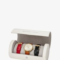 Jaryn Gold-Tone Watch Set | Michael Kors