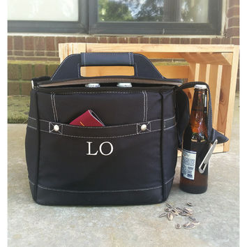 Personalized Groomsmen Coolers, Insulated Beer Cooler, Personalized Groomsmen Gifts