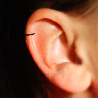 Black Cartilage Ear Cuff - No Piercing Required