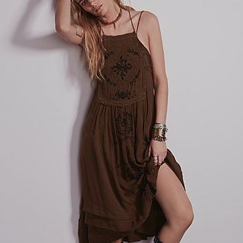 Free People Womens Diamonds in the Sky Dress