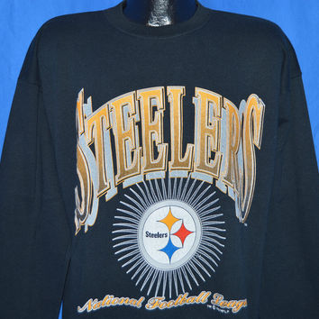 90s Pittsburgh Steelers Sweatshirt Extra-Large