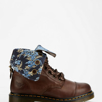 Urban Outfitters - Dr. Martens Aimee Floral Fold-Over 9-Eye Boot