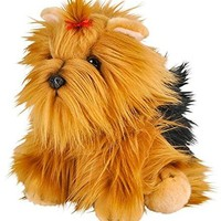 "Wildlife Tree 12"" Stuffed Yorkshire Terrier Dog Plush Floppy Yorkie Animal Heirloom Collection"