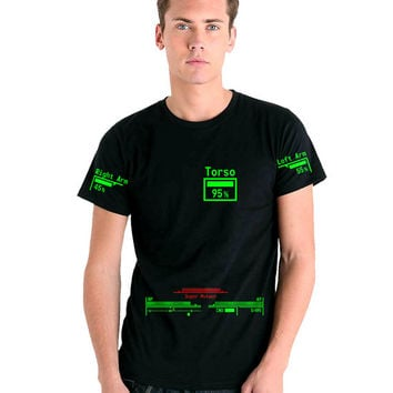 Fallout 3 / New Vegas - Personalised V.A.T.S. T-Shirt