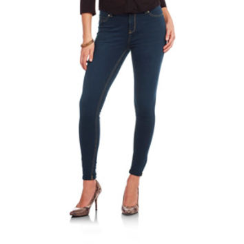 Walmart: Faded Glory Women's Super Soft French Terry Skinny Jeans