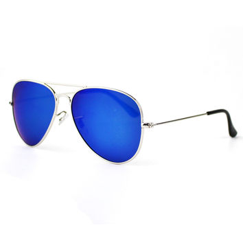 Stylish Sunglasses Metal Mirror [4915061764]