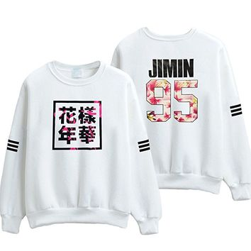 KPOP BTS In The Mood For Love Bangtan Boys JIN SUGA JIMIN pullover Sweatershirt