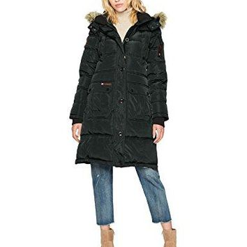 Canada Weather Gear Women's Long Outerwear Jacket  canada goose women long
