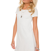 Got It Bad Dress - White
