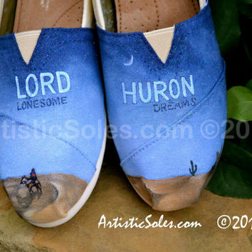 Lord Huron Custom TOMS Shoes - ADULT