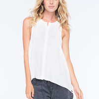 Rusty Staple Womens Top White  In Sizes