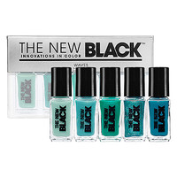 The New Black Ombre 5-Piece Nail Polish Sets (5 x 0.125 oz