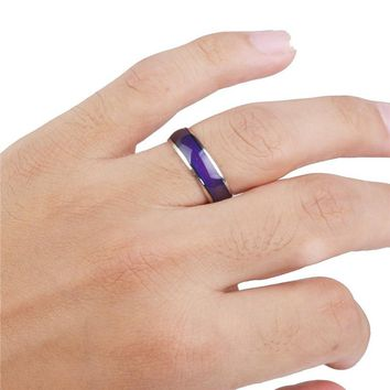 Fashion Unisex 20mm Color Changing Mood Ring Finger Ring