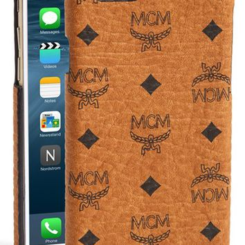 MCM 'Claus' iPhone 6 Case - Brown