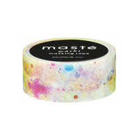 New 2015 Masté White Cosmic (City Collection) Washi Tape - Japanese Washi Masking Tape - scrapbooking, paint pastel powder rainbow galaxy