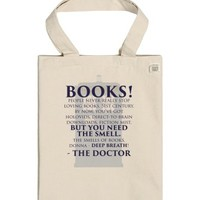 Doctor Who Books-Unisex Natural T-Shirt