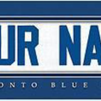 Baseball-MLB Jersey Stitch Print Toronto Blue Jays Personalized for YOU!